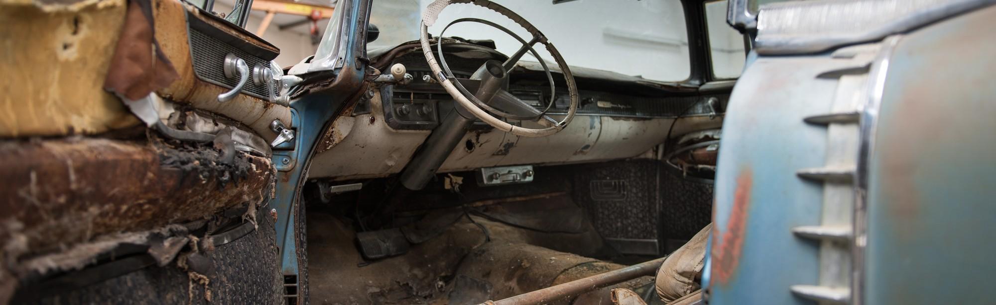 Unrestored 1956 Cadillac
