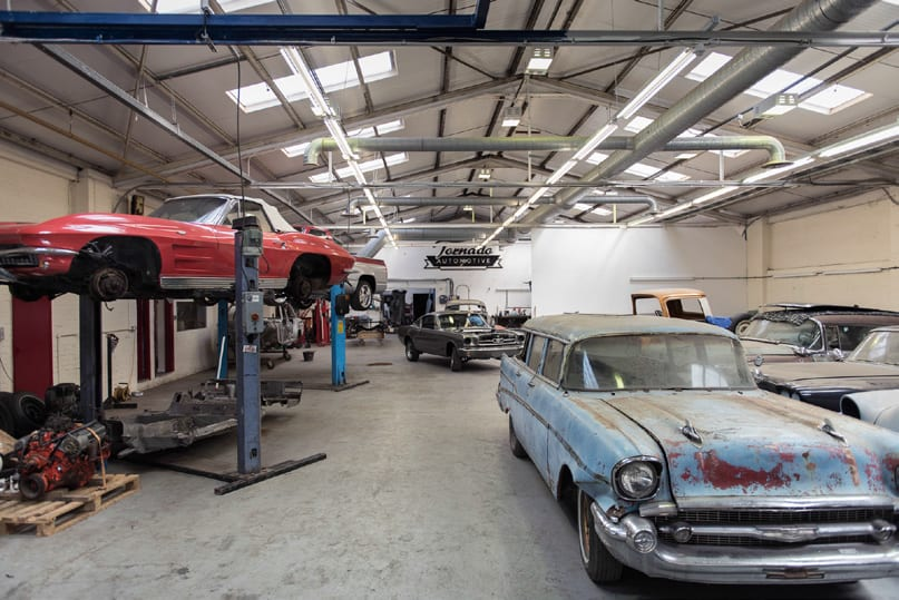 American Classic Car Workshop Tornado Automotive